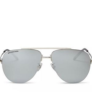 Balenciaga Women's Aviator Sunglasses.
